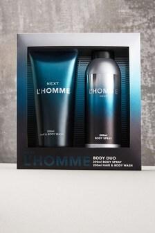 L'Homme Body Spray Giftset Eau De Toilette