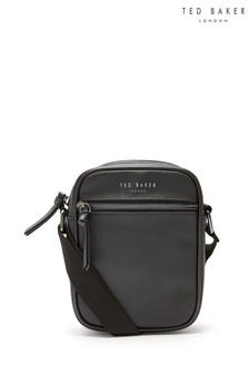 Ted Baker Black Mini Flight Bag