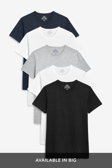 Lot de cinq t-shirts
