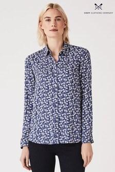 Crew Clothing Company Blue Agnes Shirt