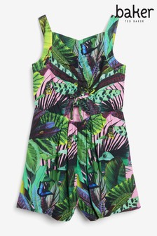 Baker by Ted Baker Tropical Playsuit
