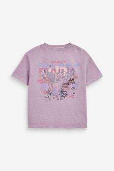 Oversized Unicorn Graphic T-Shirt (3-16yrs)