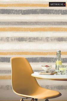 Arthouse Painted Stripe Wallpaper