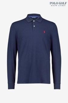 Polo Golf by Ralph Lauren Long Sleeve Pique Poloshirt