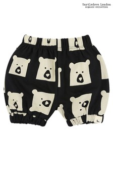 Turtledove London Black Bear Family All-Over Print Bloomers