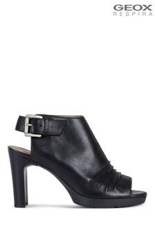 Geox Womens Annya Black Sandals