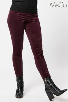 M&Co Cord Jeggings