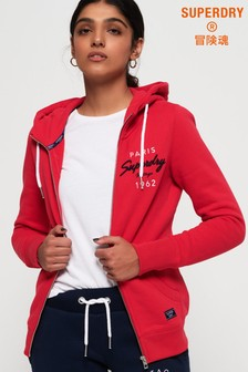 Superdry Appliqué Zip Hoody