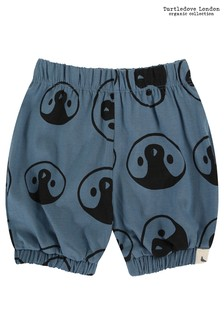 Turtledove London Blue Penguins Face All-Over Print Bloomers