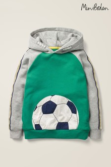 Boden Green Football Hoody
