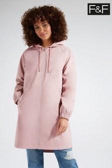 F&F Pink Rubber Raincoat