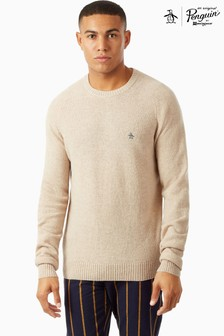 Original Penguin® 7GG 100 Lambswool Jumper