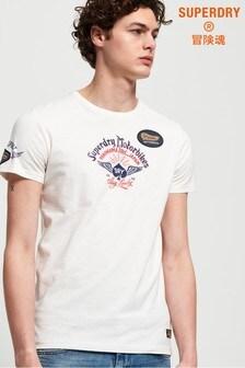 Superdry Motor Backprint Mid T-Shirt