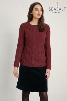 Seasalt Red Wild Tulip Jumper