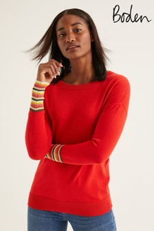 Boden Red Cassandra Jumper