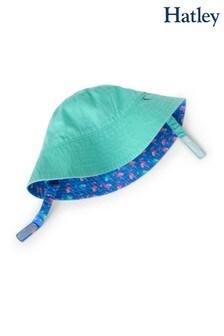 Hatley Fancy Flamingos Reversible Sun Hat