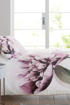 cotton sateen oversize floral bed set - Liliac Bedding