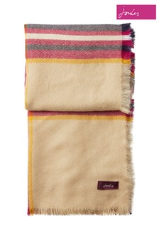 Joules Heyford Soft Handle Large Square Scarf