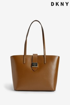 DKNY Lyla Leather Tote Bag
