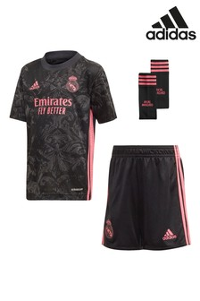 adidas Black Real Madrid 20/21 Kit