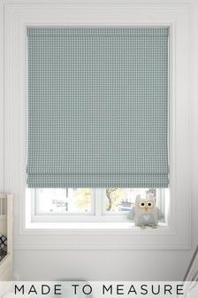 Melrose Seafoam Green Made To Measure Roman Blind