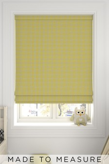 Melrose Sorbet Yellow Made To Measure Roman Blind