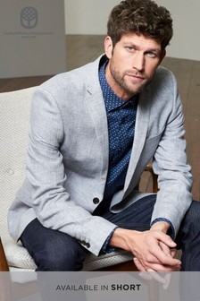 Signature Italian Textured Slim Fit Blazer