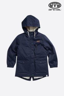 Animal Indigo Blue Parkie Jacket