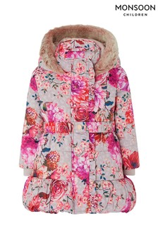 Monsoon Baby Trixabelle Padded Coat