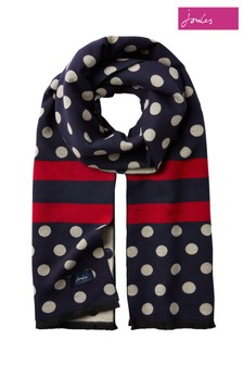 Joules Jacquelyn Reversible Soft Scarf