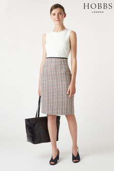 Hobbs Orange Gianna Dress