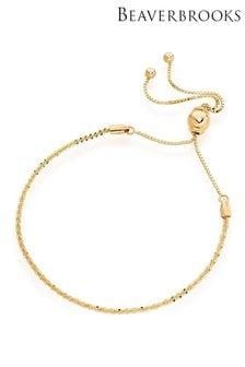 Beaverbrooks 9ct Gold Slider Bracelet