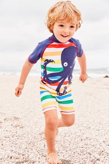 Octopus Sunsafe Two Piece Set (3mths-7yrs)