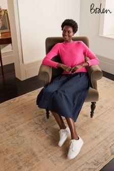 Boden Pink Radnor Shirt Dress