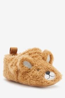 Bear 3D Pram Shoes (0-24mths)