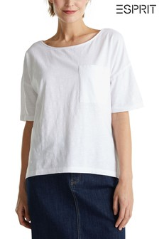 Esprit White Casual T-Shirt