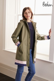 Boden Green Morris Waterproof Mac