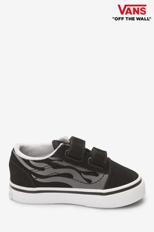 Vans Infant Old Skool Flame Trainers