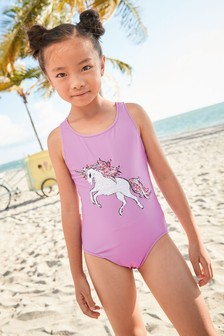 Sequin Swimsuit (3-16yrs)