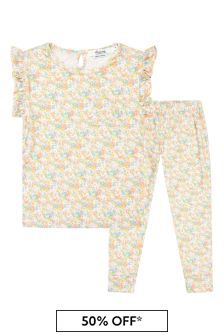 Bonpoint Girls Multicoloured Cotton Pyjamas