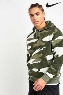 Nike Camo Pullover Club Hoody