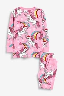 Unicorn Snuggle Pyjamas (3-16yrs)