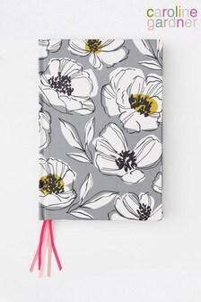 Caroline Gardner Floral Multi Ribbon Notebook