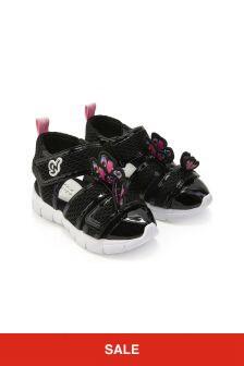Sophia Webster Girls Black Riva Sandals