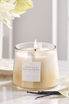 Vanilla & Cocoa Bean Lidded Jar Candle