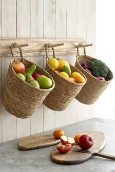 Set of 3 Hanging Vegetable Baskets