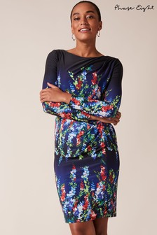 Phase Eight Multi Kris Floral Placement Print Dress