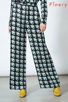 Finery London Green Ashbridge Trousers