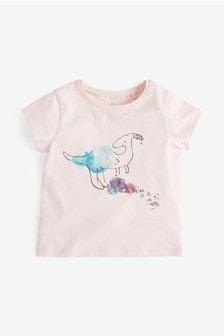 Embellished Dinosaur T-Shirt (3mths-7yrs)