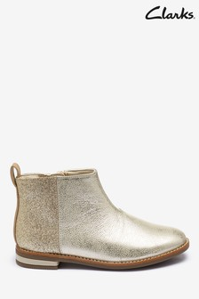 Clarks Gold Drew Fun K Boots